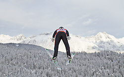 19.12.2011, Casino Arena, Seefeld, AUT, FIS Nordische Kombination, DKB FIS Weltcup Skispringen TEAM HS 109 Ski Sprung, im Bild Carlos Kammerlander (AUT) // Carlos Kammerlander of Austria during Ski jumping at FIS Nordic Combined World Cup in Seefeld, Austria on 20111211. EXPA Pictures © 2011, PhotoCredit: EXPA/ P.Rinderer