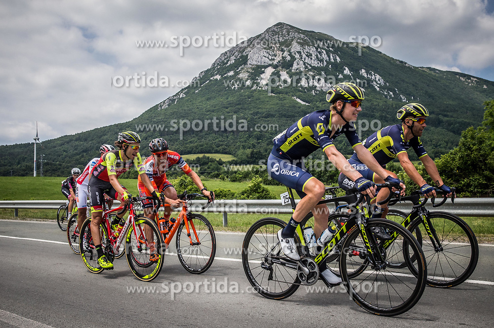 Jack Haig (AUS) of Orica - Scott during Stage 1 of 24th Tour of Slovenia 2017 / Tour de Slovenie from Koper to Kocevje (159,4 km) cycling race on June 15, 2017 in Slovenia. Photo by Vid Ponikvar / Sportida