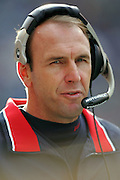 SEATTLE - NOVEMBER 28:  Head Coach Mike Mularkey of the Buffalo Bills on the sidelines against the Seattle Seahawks at Qwest Field on November 28, 2004 in Seattle, Washington. The Bills defeated the Seahawks 38-9. ©Paul Anthony Spinelli *** Local Caption *** Mike Mularkey