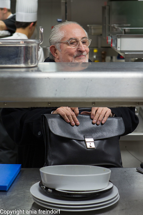 Senderens Restaurant, Alain Senderens (2 December 1939 – 25 June 2017) was a leading French chef and practitioner of Nouvelle Cuisine. Le Figaro credited him as the inventor of food and wine pairings.