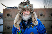 Joel Krahn/Yukon News<br /> Lorne Martin from North Vancouver, B.C., has attended every Yukon Quest since the mid-1980's.