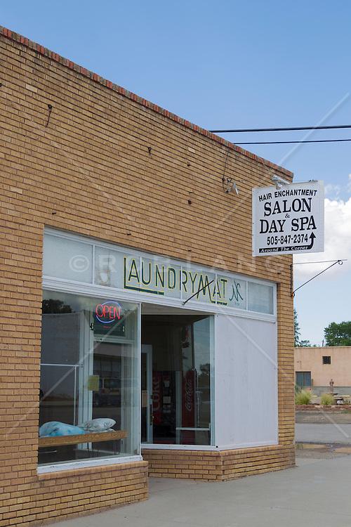 Laundrymat and Hair Salon in Mountainair, New Mexico