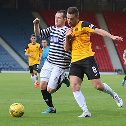 Queen's Park v Dumbarton | Petrofac Cup | 18 August 2015
