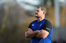 Bath Assistant Coach Neal Hatley looks on prior to the match - Mandatory byline: Patrick Khachfe/JMP - 07966 386802 - 18/01/2020 - RUGBY UNION - Kingspan Stadium - Belfast, Northern Ireland - Ulster Rugby v Bath Rugby - Heineken Champions Cup