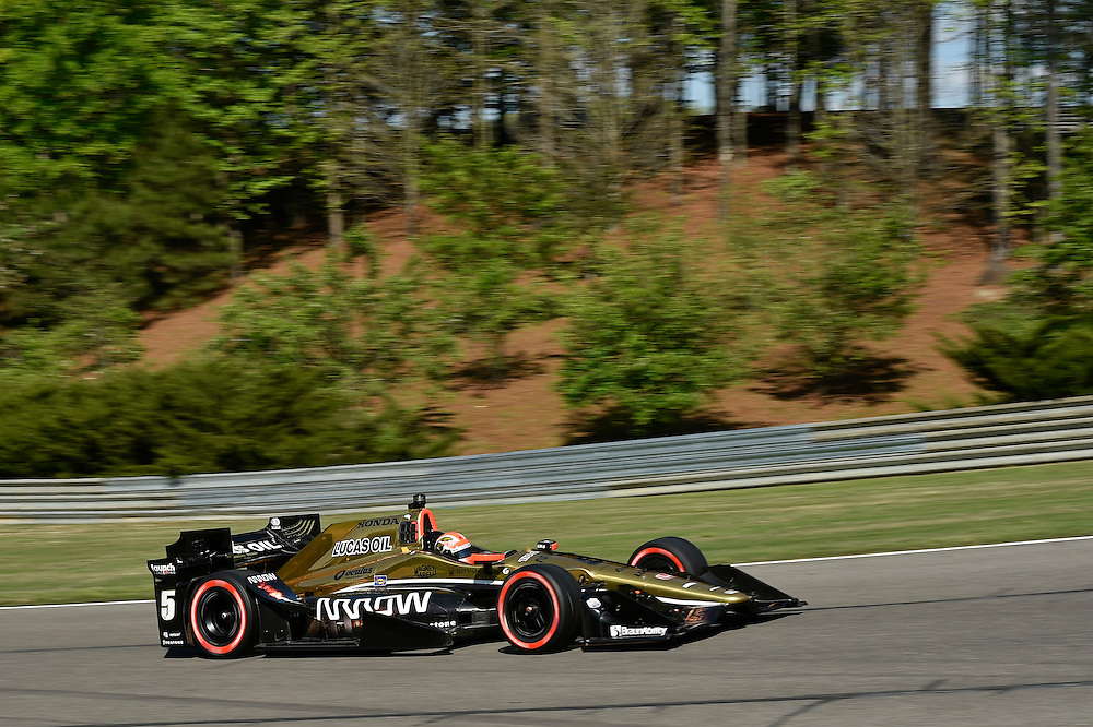 22-24 April, 2016, Birmingham, Alabama USA <br /> 5 James Hinchcliffe<br /> &copy;2016, Scott R LePage <br /> LAT Photo USA