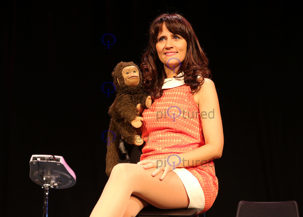 Nina Conti: In Your Face - Photocall, Criterion Theatre, London UK, 29 February 2016,Photo by Richard Goldschmidt