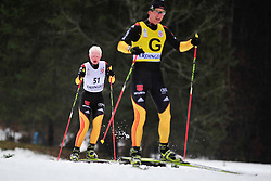 HOFMANN Nicole Guide:  HOFMANN Alexander, GER at the 2014 IPC Nordic Skiing World Cup Finals - Long Distance
