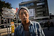 Between moments.  Shinjuku, Tokyo, Japan