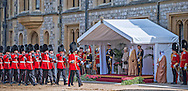 """STATE VISIT BY UAE'S SHEIKH KHALIFA BIN ZAYED AL NAHYAN .Ceremonial welcome at Windsor Castle, at the start of the two day State Visit to the UK by the President of the United Arab Emirates, Windsor_30/04/2013.Present at the ceremony were The Queen, Prince Philip and Prince Andrew..Mandatory Credit Photo: ©Linnett/NEWSPIX INTERNATIONAL..**ALL FEES PAYABLE TO: """"NEWSPIX INTERNATIONAL""""**..IMMEDIATE CONFIRMATION OF USAGE REQUIRED:.Newspix International, 31 Chinnery Hill, Bishop's Stortford, ENGLAND CM23 3PS.Tel:+441279 324672  ; Fax: +441279656877.Mobile:  07775681153.e-mail: info@newspixinternational.co.uk"""