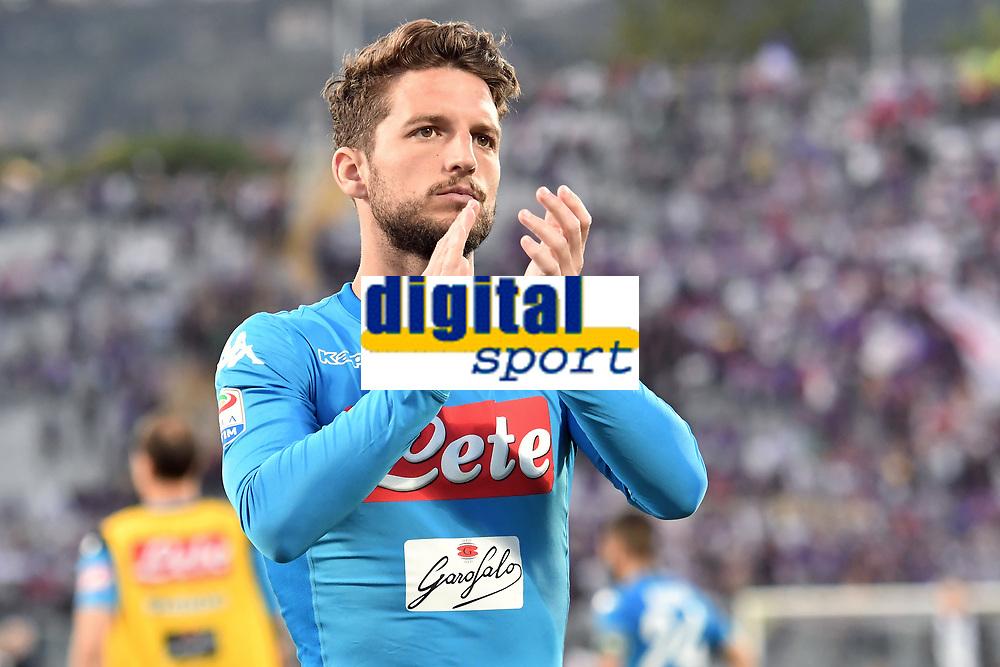 Delusione Dries Mertens Dejection <br /> Firenze 29-04-2018 Stadio Artemio Franchi Football Calcio Serie A 2017/2018 Fiorentina - Napoli . Foto Andrea Staccioli / Insidefoto