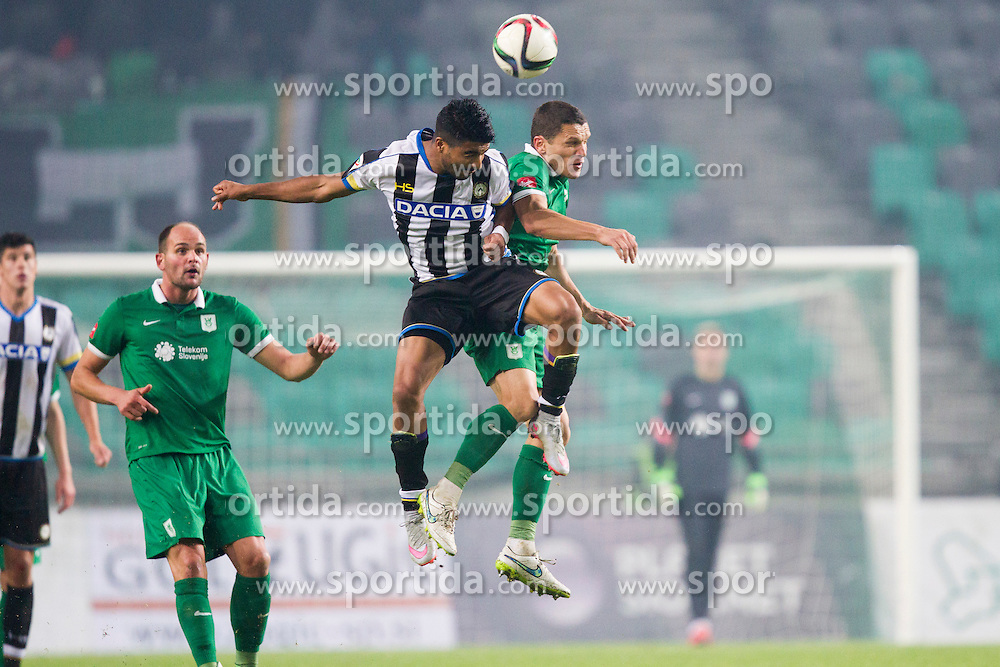 Darijan Matic #8 of NK Olimpija Ljubljana during International friendly football match between NK Olimpija Ljubljana and Udinese Calcio (ITA), on November 13, 2015 in SRC Stozice, Ljubljana, Slovenia. Photo by Urban Urbanc / Sportida