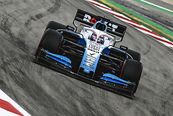 May 11, 2019 - Barcelona, Catalonia, Spain - GEORGE RUSSEL (GBR) from team Williams drives in his FW42 during the third practice session of the Spanish GP at Circuit de Catalunya (Credit Image: © Matthias Oesterle/ZUMA Wire)