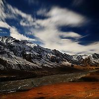 Mission Kibber Chitkul Landscapes by Jagjit Singh