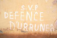 Mali, Bamako, Grafiti
