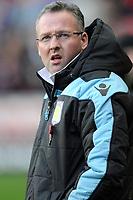 Football - Premier League - Sunderland vs. Aston Villa<br /> Paul Lambert (Aston Villa manager) at the Stadium of Light