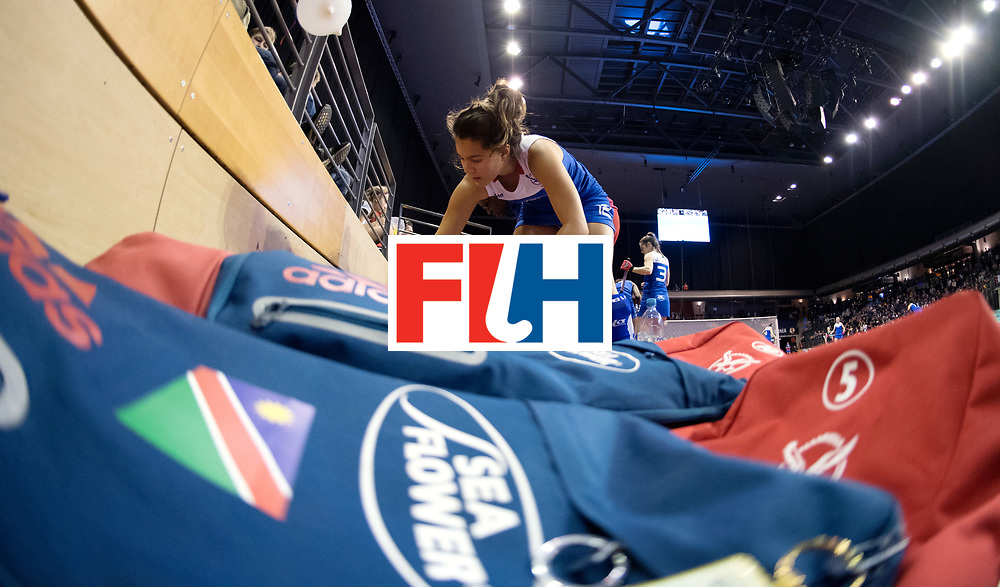 BERLIN - Indoor Hockey World Cup<br /> Women: Germany - Namibia<br /> foto: HERMANUS Gillian.<br /> WORLDSPORTPICS COPYRIGHT FRANK UIJLENBROEK