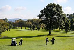 Team Floggers take part in the annual Bristol Rovers Golf Day - Rogan Thomson/JMP - 10/10/2016 - GOLF - Farrington Park - Bristol, England - Bristol Rovers Golf Day.