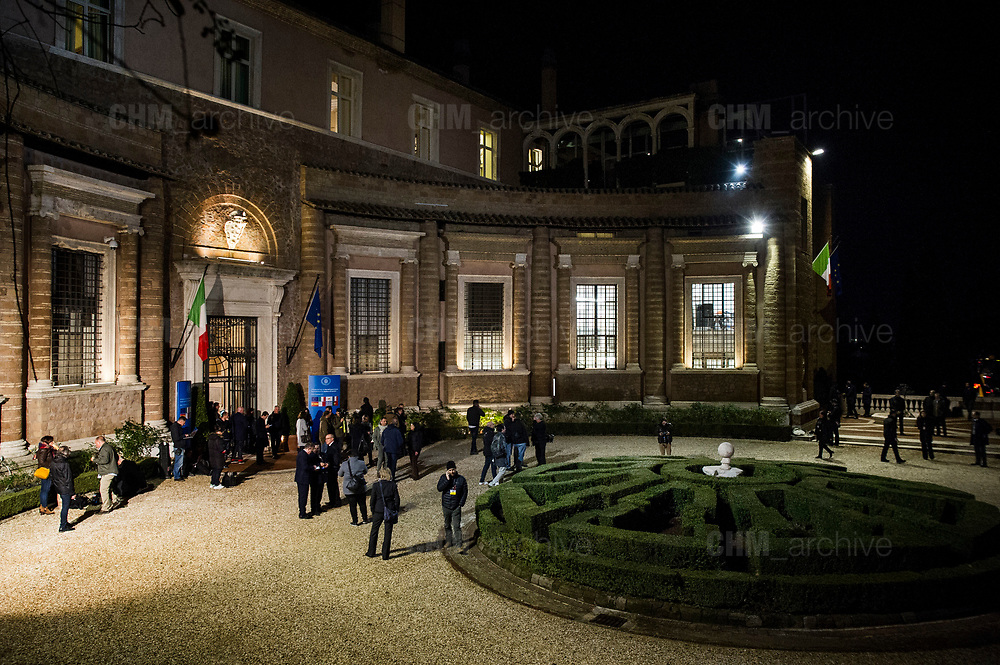 Summit of the Southern European Union Countries at Villa Madama in Rome 10 January 2017. Christian Mantuano / OneShot