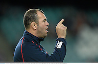15 June 2013; NSW Waratahs head coach Michael Cheika. British & Irish Lions Tour 2013, NSW Waratahs v British & Irish Lions, Allianz Stadium, Sydney, NSW, Australia. Picture credit: Stephen McCarthy / SPORTSFILE