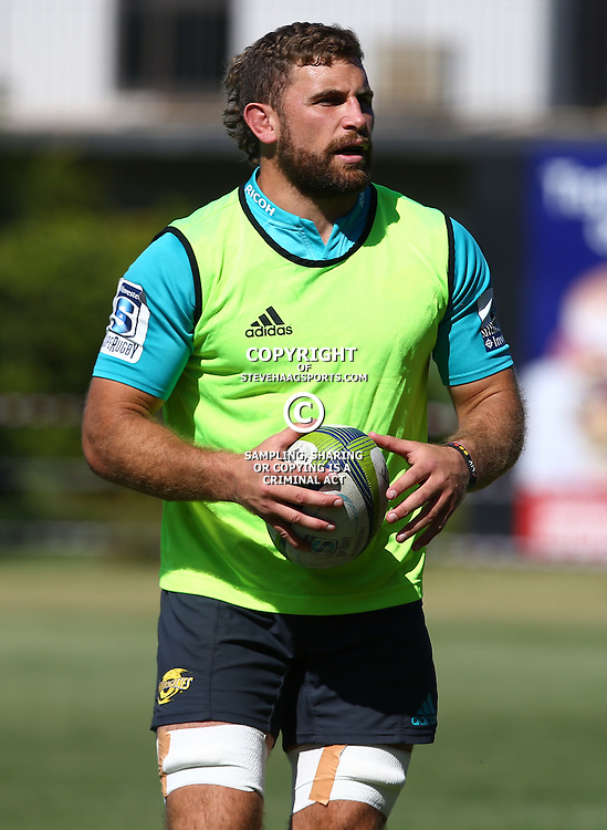 DURBAN, SOUTH AFRICA, 5, May 2016 - Callum Gibbins during the Hurricanes training session held at Northwood School Durban North , (Photographer Steve Haag) <br /> <br /> Images for social media must have consent from Steve Haag