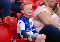 Bristol Rovers fans. - Mandatory by-line: Alex James/JMP - 21/04/2018 - FOOTBALL - Aesseal New York Stadium - Rotherham, England - Rotherham United v Bristol Rovers - Sky Bet League One