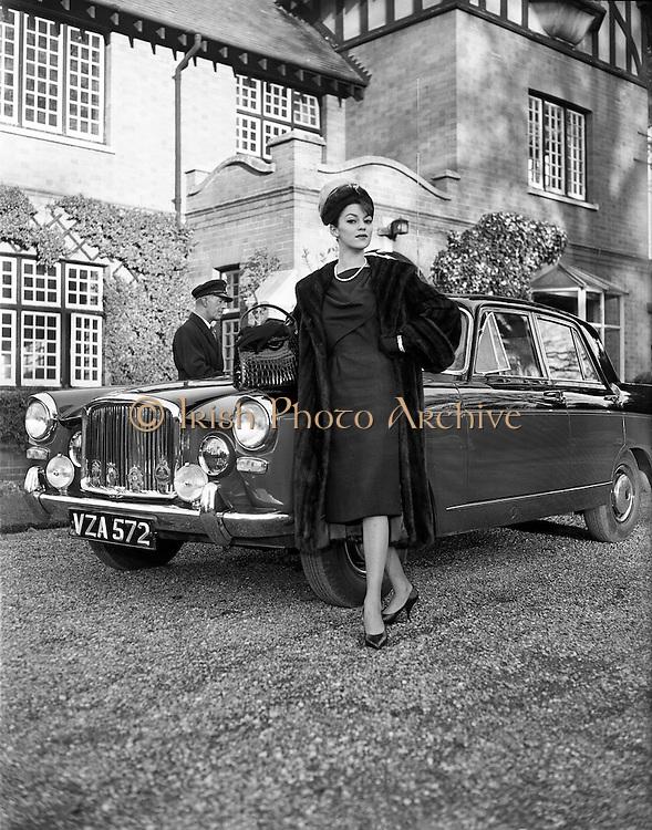 Fur Coats for McConnells..10.11.1961