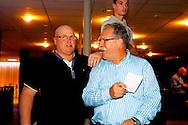 07-11-2015 VOETBAL: SUPPORTERCLUB BOWLINGAVOND<br /> De supportersclub Willem II organiseerde voor haar leden de jaarlijkse bowlingavond die deze keer heel goed bezocht was<br /> <br /> Jan van Gestel en Jan van den Dries<br /> <br /> Foto: Geert van Erven