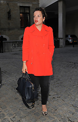 Lilly Allen attends LFW: Giles - s/s 2014 catwalk show at Stationers Hall in London, UK. 16/09/2013<br />BYLINE MUST READ : GOTCHAIMAGES.COM<br /><br />Copyright by © Gotcha Images Ltd. All rights reserved.<br />Usage of this image is conditional upon the acceptance <br />of Gotcha Images Ltd, terms and conditions available at<br />www.gotchaimages.com