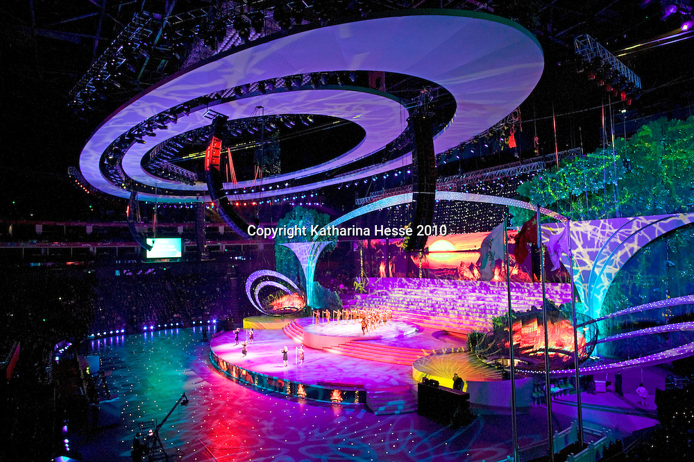 SHANGHAI, APRIL 30, 2010 : the opening  ceremony of the World Expo.