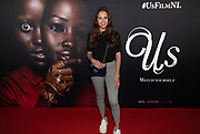 2019, March 13. Pathe ArenA, Amsterdam. Julia Bakker at the Dutch premiere of Us.