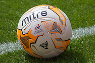 A Football League ball, being used folowing Luton Town's promotion to the Football League before the Pre Season Friendly match at Kenilworth Road, Luton<br /> Picture by David Horn/Focus Images Ltd +44 7545 970036<br /> 26/07/2014