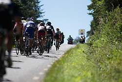 Gabrielle Pilote-Fortin (CAN) of Cervélo-Bigla Cycling Team rides near the top of the first KOM climb of the 117,5 km third stage of the 2016 Ladies' Tour of Norway women's road cycling race on August 13, 2016 between Svinesund, Sweden and Halden, Norway. (Photo by Balint Hamvas/Velofocus)