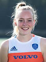 UTRECHT - Fiona Morgenstern. Jong Oranje dames voor EK 2017 in Valencia. COPYRIGHT KOEN SUYK