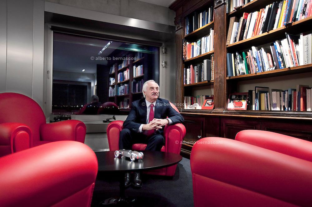 Bergamo, Alberto Bombassei, presidente e AD di BREMBO.