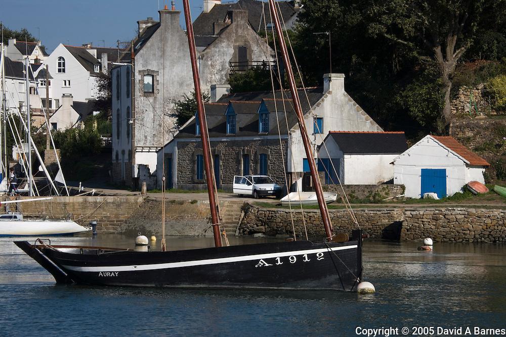Le Bono, Morbihan, Brittany, France