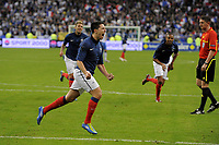 FOOTBALL - UEFA EURO 2012 - QUALIFYING - GROUP D - FRANCE v BOSNIA - 11/10/2011 - PHOTO JEAN MARIE HERVIO / DPPI - JOY SAMIR NASRI (FRA) AFTER HIS GOAL