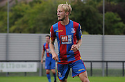 Christian Scales in action during the Final Third Development League match between U21 Crystal Palace and U21 Hull City at Selhurst Park, London, England on 10 August 2015. Photo by Michael Hulf.