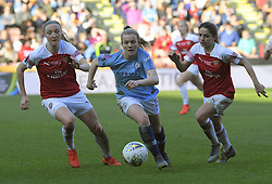 February 23, 2019 - Sheffield, England, United Kingdom - Lauren Hemp (Manchester City) forges ahead during the  FA Women's Continental League Cup Final  between Arsenal and Manchester City Women at the Bramall Lane Football Ground, Sheffield United FC Sheffield, Saturday 23rd February. (Credit Image: © Action Foto Sport/NurPhoto via ZUMA Press)