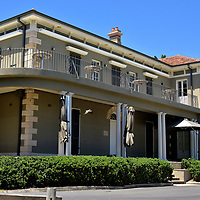 Dunbar House at Watsons Bay in Sydney, Australia<br /> This distinguished and historic home overlooks Watson Bay&rsquo;s shore. Originally name Zandoliet, it was built in 1837 for Colonial Treasurer Pieter Laurentz Campbell and designed by Mortimer Lewis &ndash; the Colonial Architect for NSW from 1835 to 1849. It has been three different hotels, a zoo for exotic animals, council chambers and a library. In 1950, the grand residence became the Dunbar House, named after an English frigate ship that sunk in 1857. Now it hosts a daytime caf&eacute;. The elegant surrounds are also perfect for wedding receptions and other special events.