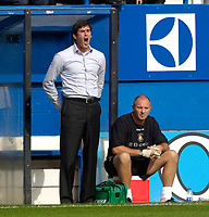 Photo: Daniel Hambury.<br />Luton Town v Crystal Palace. Coca Cola Championship. 09/09/2006.<br />Luton's manager Mike Newell.