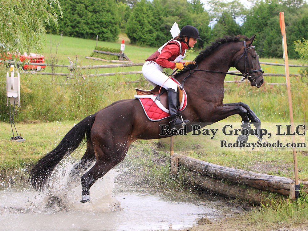 Annaliese Farber and Espirit De La Danse at the 2009 Lanes End Horse Trials in Bobcaygeon, Ontario.