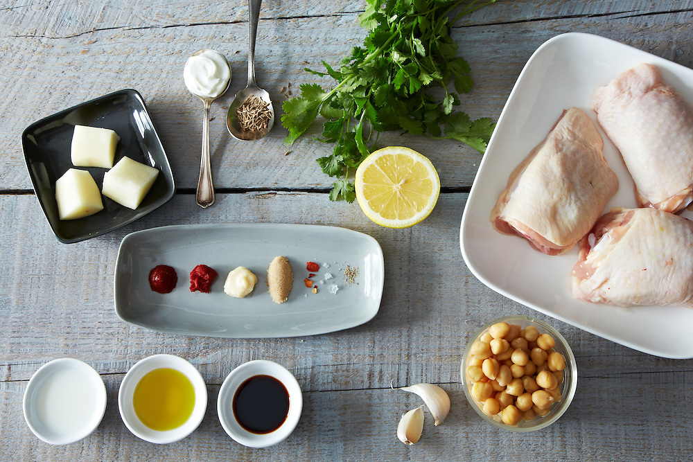 Extraordinary Marinated and Roasted Chicken Ingredients