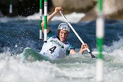 Luka BOZIC of Slovenia during the Canoe Single (C1) Men SemiFinal race of 2019 ICF Canoe Slalom World Cup 4, on June 28, 2019 in Tacen, Ljubljana, Slovenia. Photo by Sasa Pahic Szabo / Sportida