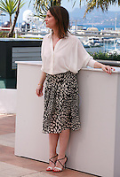 Actress Geraldine Pailhas at the photo call for the Jury Un Certain Regard at the 67th Cannes Film Festival, Saturday 17th May 2014, Cannes, France.