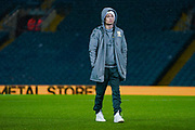 Leeds United defender Gjanni Alioski (10) arrives at the ground during the EFL Sky Bet Championship match between Leeds United and Hull City at Elland Road, Leeds, England on 10 December 2019.