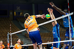 Petar Dirlic of ACH Volley during volleyball match between ACH Volley Ljubljana and Zenit Saint Petersburg in 4th Round Pool C of 2019 CEV Volleyball Champions League, on December 18, 2018 in Hala Tivoli, Ljubljana, Slovenia. Photo by Matic Klansek Velej / Sportida