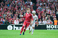 01.09.2017. Copenhagen, Denmark. <br /> Nicklas Bendtner (11) of Denmark during the FIFA 2018 World Cup Qualifier between Denmark and Poland at Parken Stadion.<br /> Photo: © Ricardo Ramirez.