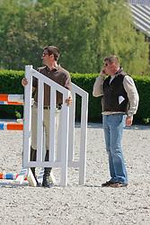 Conter Stefan (BEL), De Roock Gilbert (BEL)<br /> Wolvertem 2008<br /> Photo © Hippo Foto
