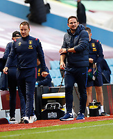 Football - 2019 / 2020 Premier League - Aston Villa vs. Chelsea<br /> <br /> <br /> John Terry assistant manager of Aston Villa  and Frank Lampard manager of Chelsea at Villa Park. <br /> <br /> <br /> COLORSPORT/LYNNE CAMERON