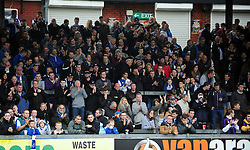 Bristol Rovers fans - Photo mandatory by-line: Neil Brookman/JMP - Mobile: 07966 386802 - 15/11/2014 - SPORT - Football - Bristol - Memorial Stadium - Bristol Rovers v Kidderminster - Vanarama Football Conference